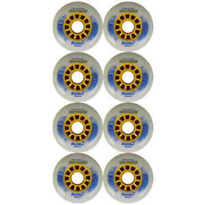 Inline-Skate-Roller-Hockey-Wheel-INSTRIKE-RAIDER-80mm-75a-12-Spoke-Set-of-8