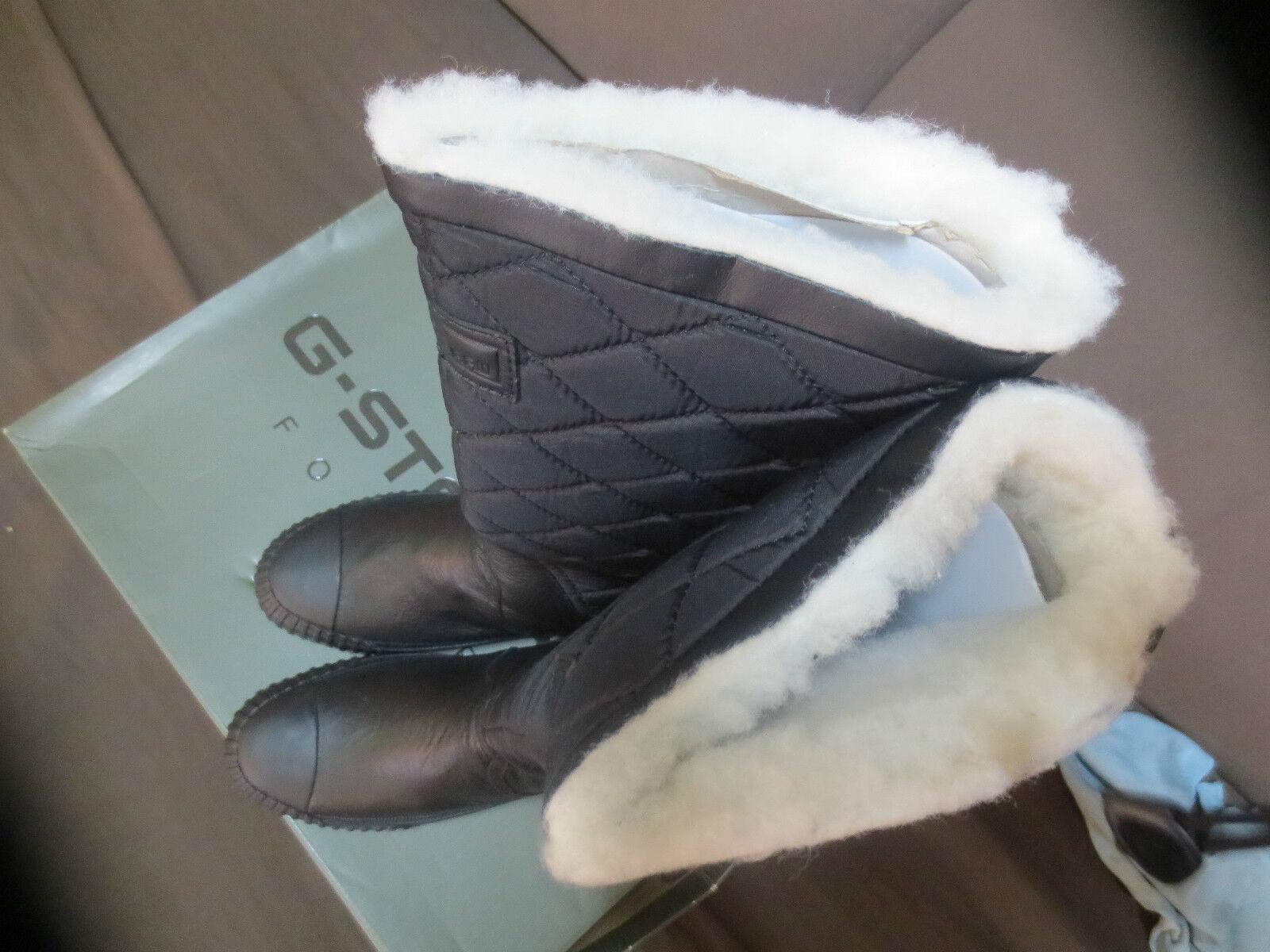 g Stern Stiefel Leder,Nylon Schuhgrößen gefüttert Neu Wert 179e Schuhgrößen Leder,Nylon 36,38,41 3e93d0