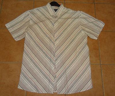 Bellissimo Uomo A Maniche Corte-camicia Quality Style Cotton Republic ® The Comfort 42-43 M 48-50-52- Merci Di Alta Qualità