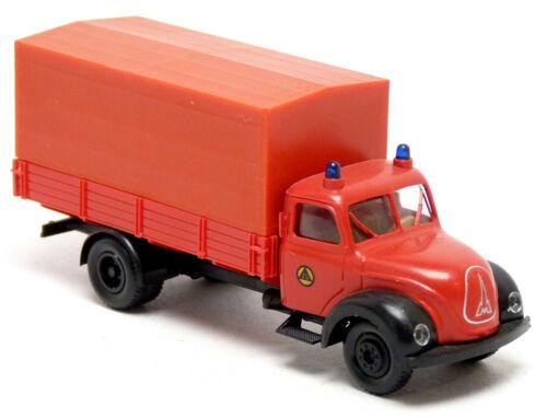 Brekina 4205 Magirus rot Feuerwehr KatS Katastrophenschutz neutral 1:87 H0