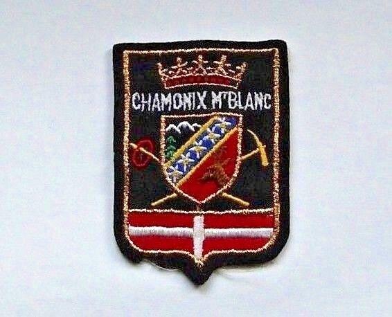 Vintage Ski Patch -  Chamonix M'white Patch