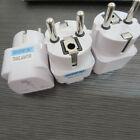 Travel World Wall Charger Power Adapter Converter Plug US UK AU To EU Europe New