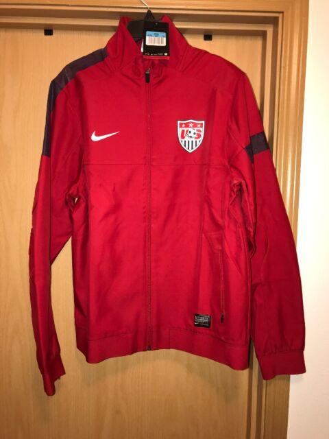 42b969cf5024 Buy Nike USA National Team Red Sideline Soccer Track Jacket Men s ...