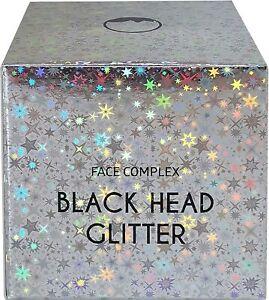 GLITTER MASK BLACK HEAD MASCHERA GLITTERATA VISO IDRATANTE PUNTI NERI ACNE RUGHE