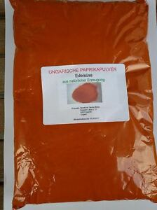 Ungarisches paprikapulver edels ss 1kg packung aus for Ungarisches paprikapulver