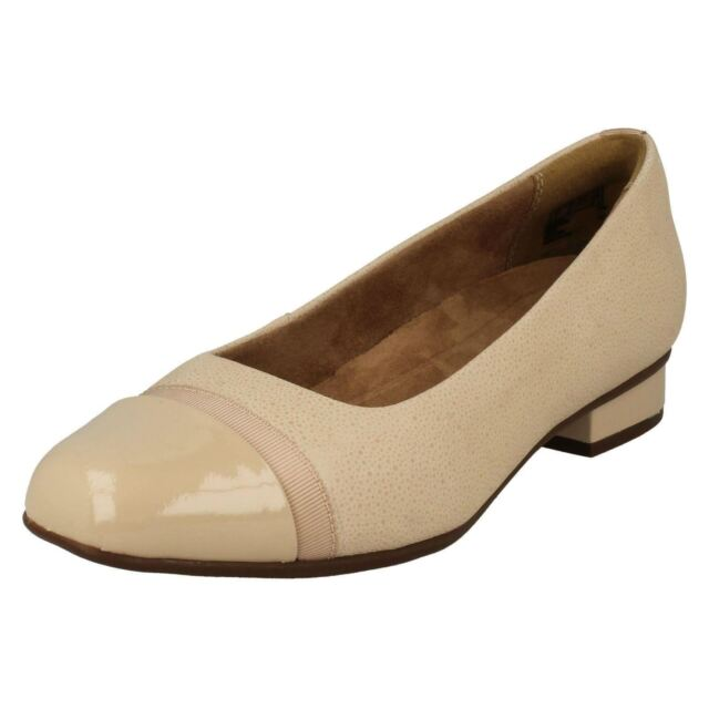 7b04d432e4 Ladies Unstructured by Clarks Slip on Shoes Style - Keesha Rosa Nude ...
