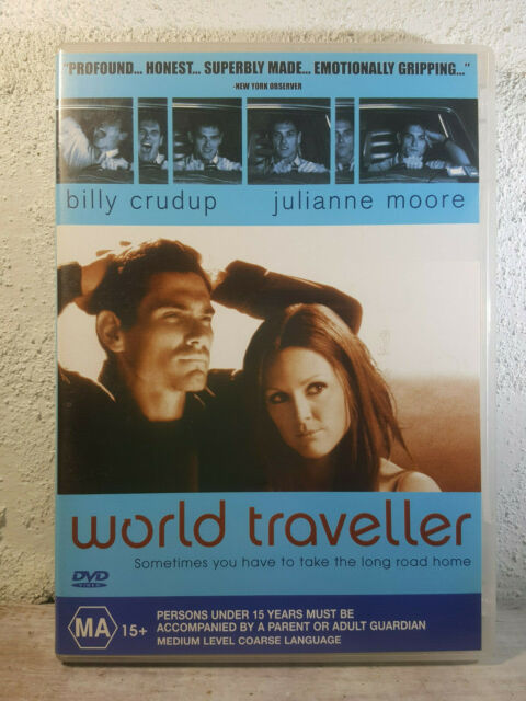 World Traveler DVD Billy Crudup Julianne Moore 2001 Bart Freundlich Drama Rare