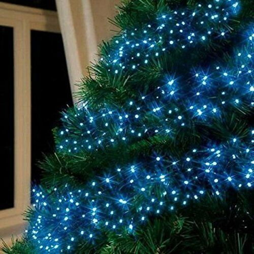 Blau LED CHASER LIGHTS CHRISTMAS BRIGHT XMAS GIFT LIGHTS INDOOR OUTDOOR CHASER