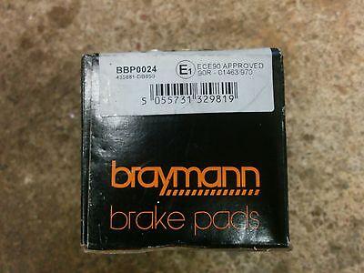CITROEN XSARA 1.6,1.7,2.0 Brake Shoe Fitting Kit Rear Braymann Quality New