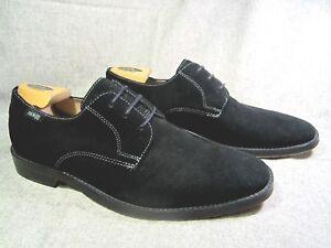 Nick Richelieu taille à daim bouts it noir Chaussures M 9 en 5 unis rOr4w