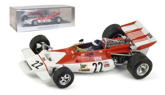 SPARK S1744 BRM p160b   22 FRENCH GP 1972-PETER GETHIN scala 1/43