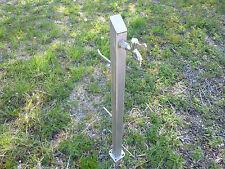 Edelstahl Wasserzapfsäule / Vollpolierter Wasserhahn in verscheidenen Längen