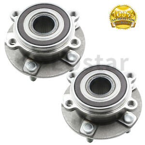 2 PROTEGE5 Front Wheel Hub /& Bearing Assembly Fits MAZDA PROTEGE 01-03 Pair