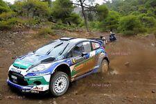 Petter Solberg Ford Fiesta RS WRC Rally d'Italia Sardegna 2012 Photograph 2