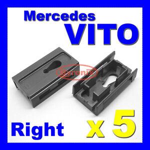 MERCEDES-VITO-W638-V-CLASS-FRONT-WINDSCREEN-CLIPS-A-PILLAR-RIGHT-SIDE-TRIM-638-5