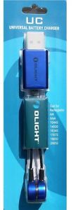 OLIGHT UC Universal Magnetic USB Charger for all Single Rechargeable Batteries.