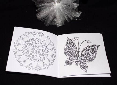 Personalised Childrens Kids Wedding Activity Pack Book Mandala 6x6 Favour