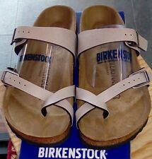 Birkenstock Mayari 1005056 Size 38/L7M5 R Birko-Flor Stone Color Sandals