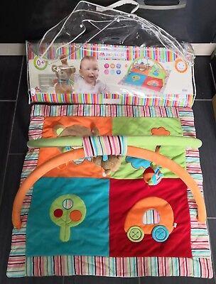 Babyfehn, Spielbogen Krabbeldecke 3d Acitvity Decke, Spieltrapez Babydecke