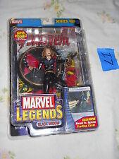 I7_3 Toy Biz Marvel Legend Lot BLACK WIDOW BLONDE VARIANT Series VIII 8 VS TCG