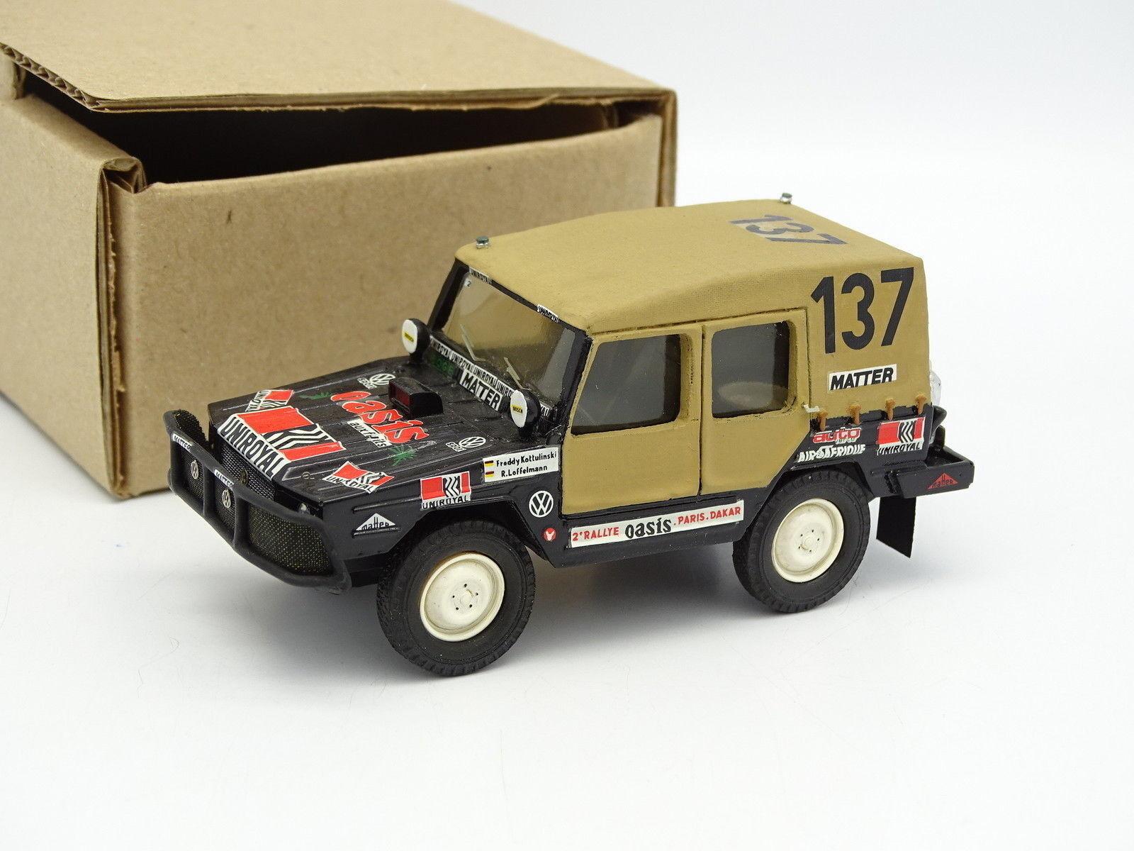 Graphyland Kit Montato 1/43 - VW Iltis Parigi Dakar 1980