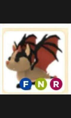 Roblox Adopt Me Neon Bat Dragon Ebay