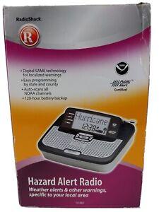 Radio-Shack-Hazard-Alert-Radio-Weather-Alerts-amp-Other-Warnings-12-262-Opened-New