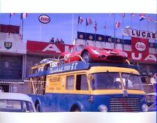 Photograph - Maserati Transporter Tipo 151, Le Mans 1962