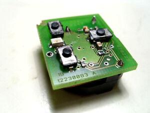 genuine vauxhall 3 button remote key fob circuit board ...  #7