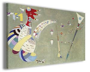 Quadro Wassily Kandinsky vol III Quadri famosi Stampe su tela ...
