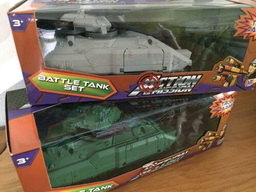 Azione missione BATTLE TANK set Con i Soldati-TRASPORTO TRUPPE