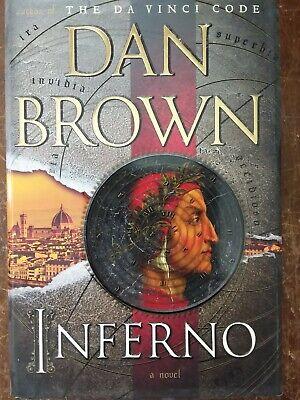 DAN BROWN Hardcover 3 Book Lot Da Vinci Code INFERNO The