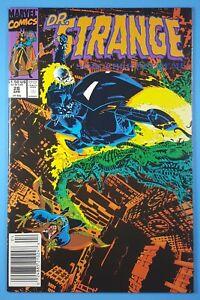Dr-Strange-Sorcerer-Supreme-28-Ghost-Rider-Marvel-Comics-1991-Newsstand
