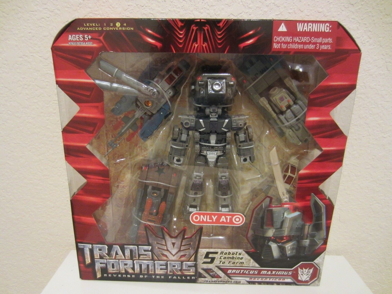 Transformers movie 5 Robots Combine to Form Decepticon Bruticus Maximus new MISB