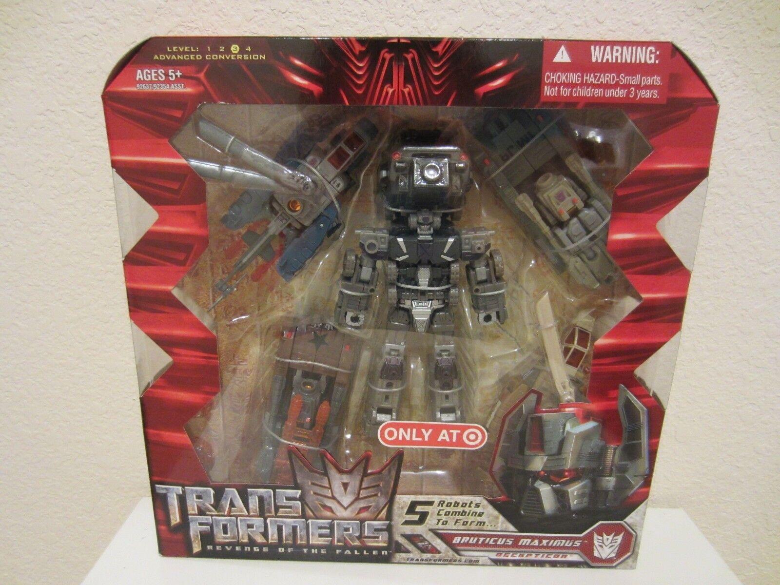 marcas de diseñadores baratos Transformers Película 5 robots robots robots se combinan para formar Decepticon Bruticus Maximus Nuevo Y En Caja Sellada  mejor marca