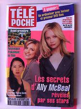 Télé Poche 18/09/2000; Pokémon/ Les secrets d'Ally McBeal/ Tommy Lee Jones