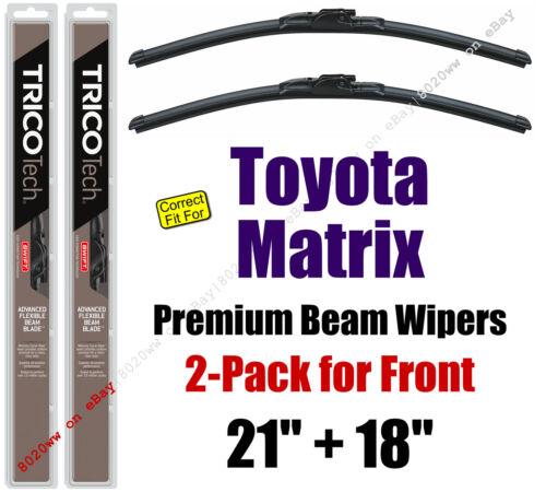 Wipers 2-Pack Premium Wiper Beam Blades fit 2003-2008 Toyota Matrix 19210//180