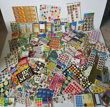 Huge Lot Of Misc Classroom Stickers Amp Labels Many New Amp Many Vintage