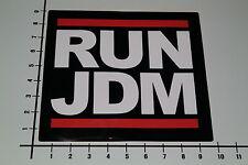 RUN JDM Aufkleber Sticker Japan Tuning Auto DMC OEM DUB Speed Shop Monster Mi261