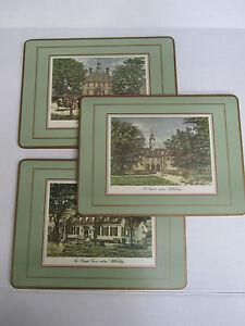 Colonial Williamsburg Virginia Scenes Pimpernel Mats Placemats ...