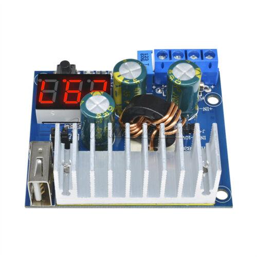 DC-DC Converter Adjustable Step-up Module Power Supply USB Voltmeter 3~35V 6A