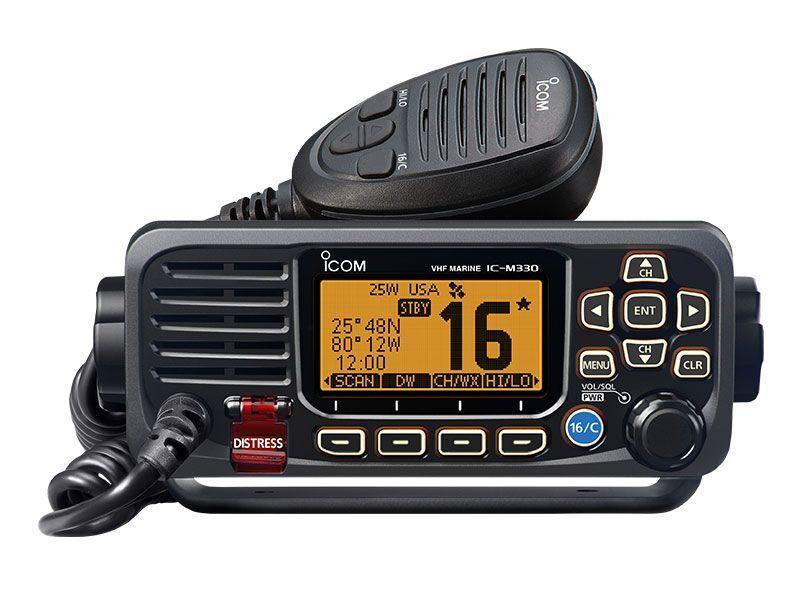 Icom IC-M330 Sprechfunkgerät fest VHF Klasse nautisch 25W Schwarz DSC Klasse VHF D 129002 ea1b52