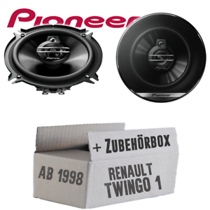 Pioneer altavoces para Renault Twingo 1 fase 2 Front 13cm 250w coche boxeo set