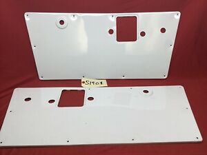 1968-1977 EARLY FORD BRONCO DOOR PANEL SET PAINTED WHITE ...