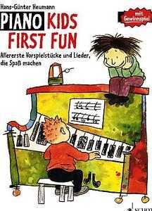 Klavier-Noten-Piano-Kids-FIRST-FUN-sehr-leicht-leicht-HEUMANN