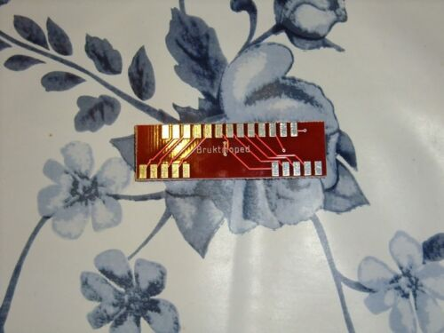 Commodore Amiga 4 player adapter PCB only