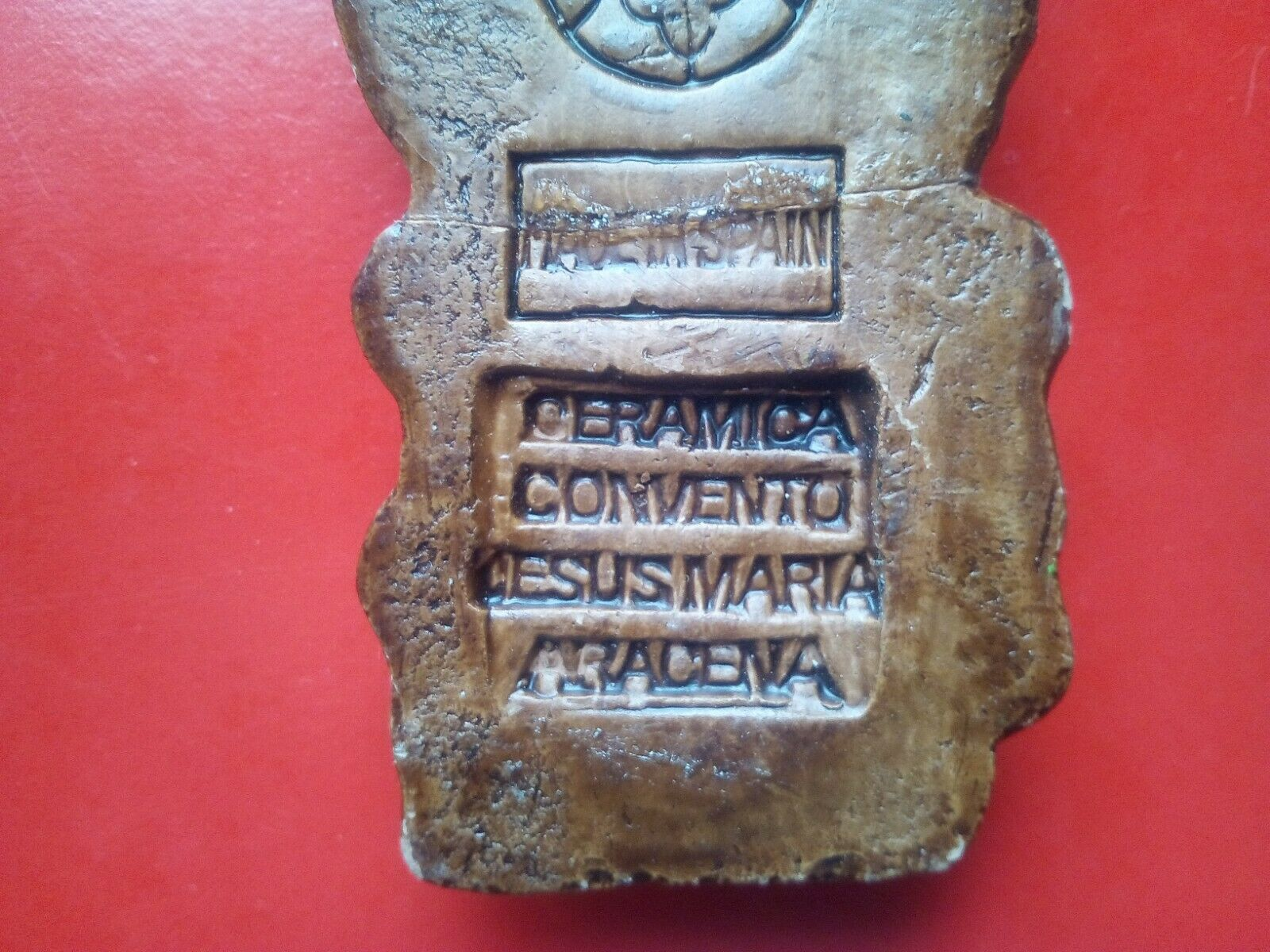 Jolie figurine chouette ceramica ceramica ceramica convento Jesus Maria aracena Espagne 141G .D14 6c27c1