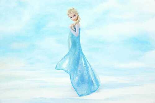 FROZEN Premium Figure Elsa Anna Set of 2 SEGA Lucky Prize Disney