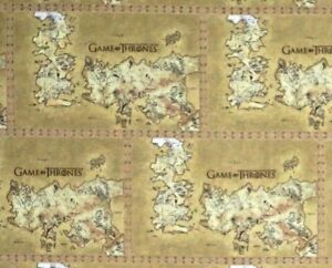 Details about FAT QUARTER GAME OF THRONES FABRIC MAP WESTROS HBO SERIES on game of thrones maps and families, true detective hbo, game of thrones hbo series, deadwood hbo, game of thrones hbo store, game of thrones maps pdf,
