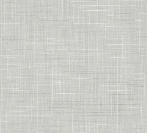 354114 Leinenstruktur grau AS Creation Vliestapete Cote d/' Azur 10,05 x 0,53 m